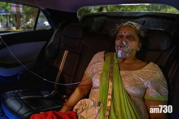 新冠肺炎|印度疫情失控單日增近35萬確診  患者遺體露天集體火化