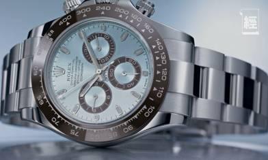 Rolex冰藍面Daytona市值$90萬 三年炒價升幅驚人屢創新高!