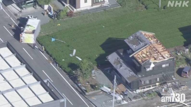 日本靜岡縣遭龍捲風吹襲 民眾被巨響嚇怕:以為快要死