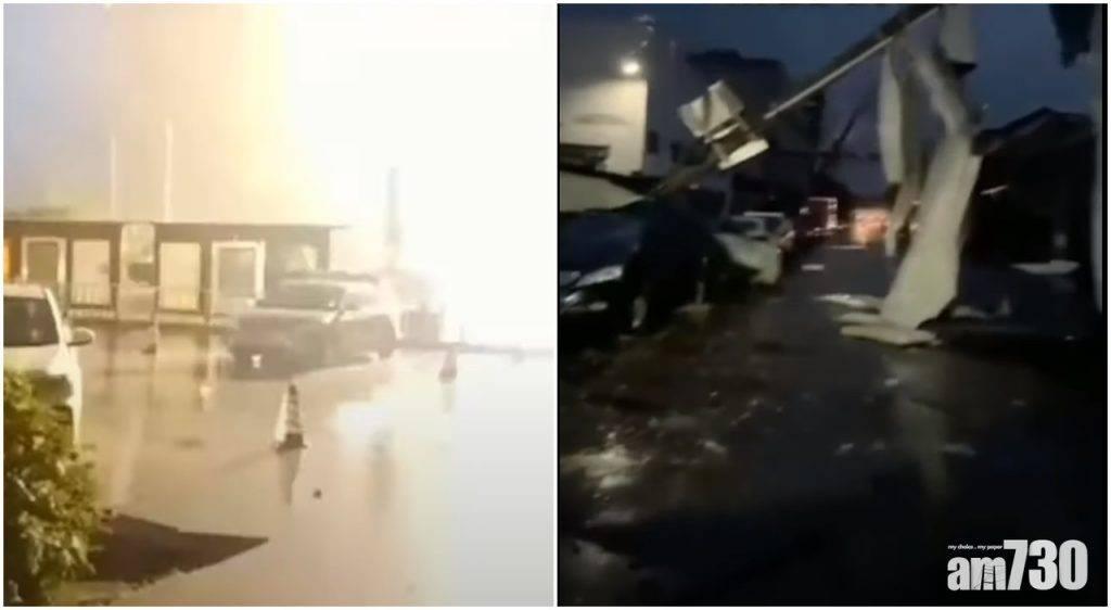 湖北江蘇遭龍捲風吹襲 至少造成7死逾200傷