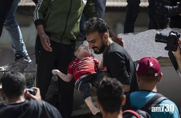 以巴衝突|以色列連續7天空襲加沙  炸美聯社半島電視台辦公大樓遭抨擊