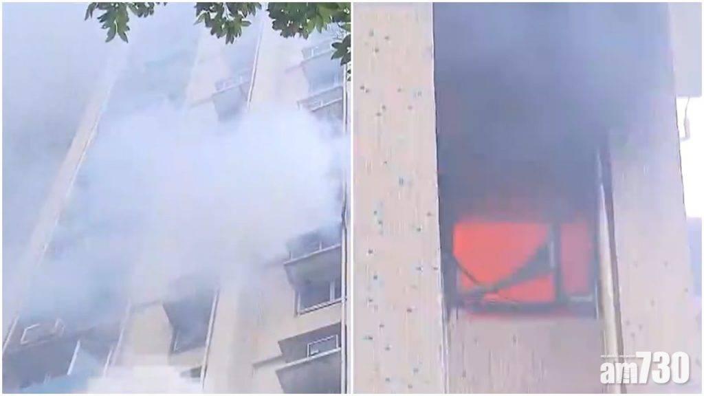 沙田康林苑單位清晨火警 3人送院百居民疏散