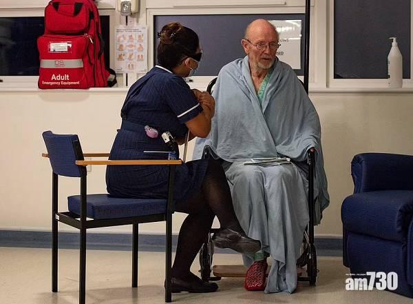 新冠苗疫 領先全球接種輝瑞疫苗  英81歲老翁中風亡