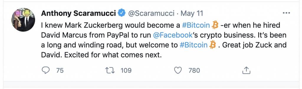 朱克伯格借寵物名字宣布已經買入比特幣 還順勢推出「山羊幣」?