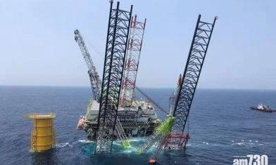 惠州海上施工平台傾斜 4工人墮海失蹤