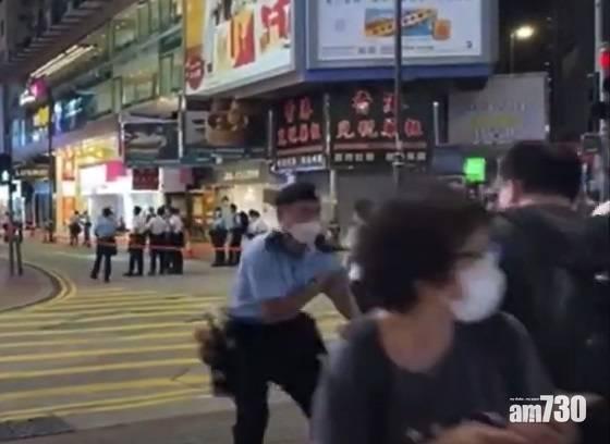 (有片)網上瘋傳有警員遇襲影片