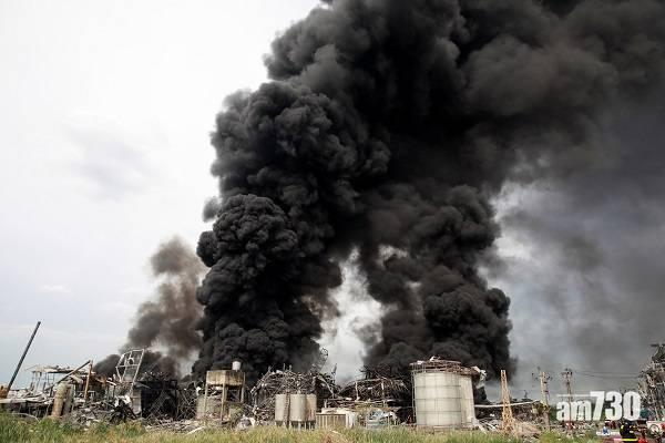 有片|曼谷附近台資化工廠大爆炸最少21傷