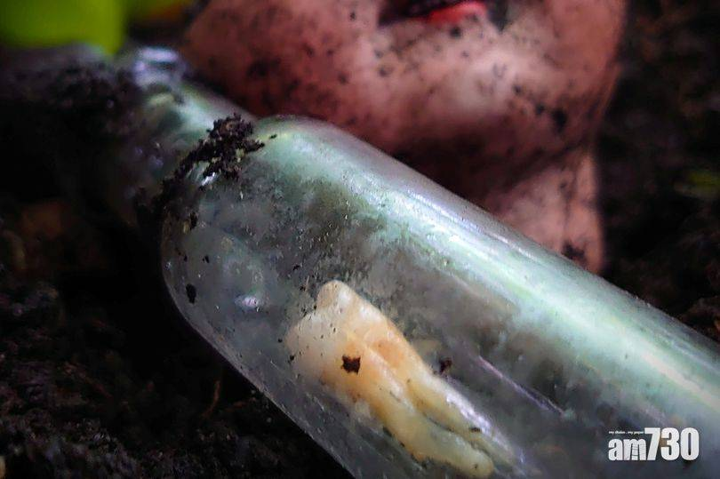 毛骨悚然 英漢一心尋寶竟掘出19世紀「巫術瓶」 裡面係……