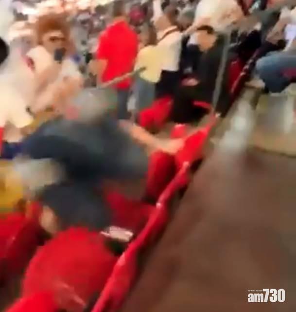 歐國盃|英格蘭贏波 重量級裸男興奮打氣 碌落觀眾席 (有片)