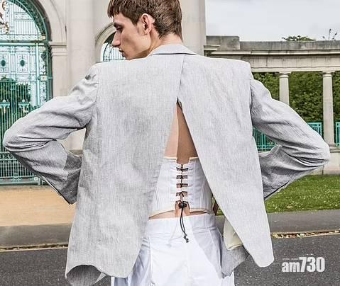 唔使做Gym|男人穿束腹「馬甲」?設計學生:可塑造V型身材