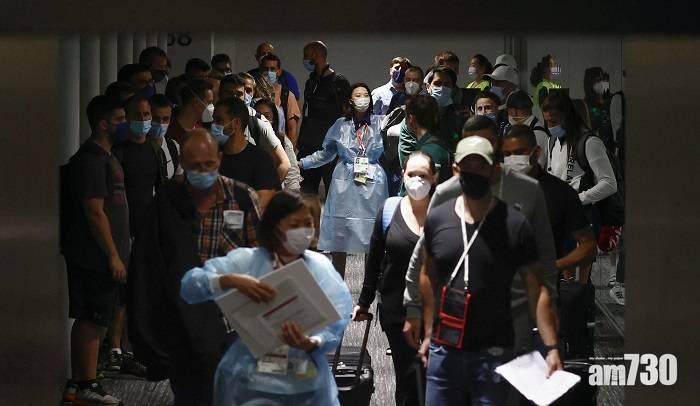 東京奧運 南非七人欖球隊同機有人確診 18人被送往隔離
