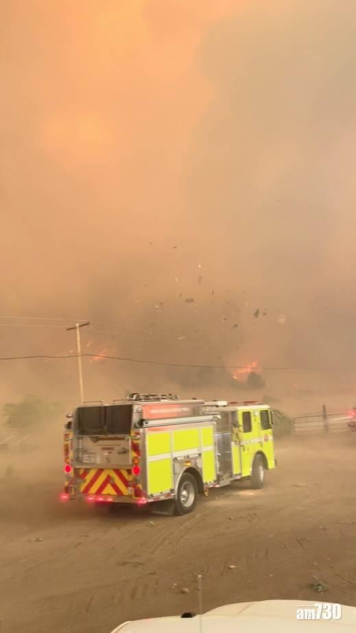 拆解新聞|加州「火積雲」如噴火龍兇猛  如何令消防身陷險境?