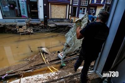 西歐水災|德國比利時逾180死  生還者:如海嘯來襲