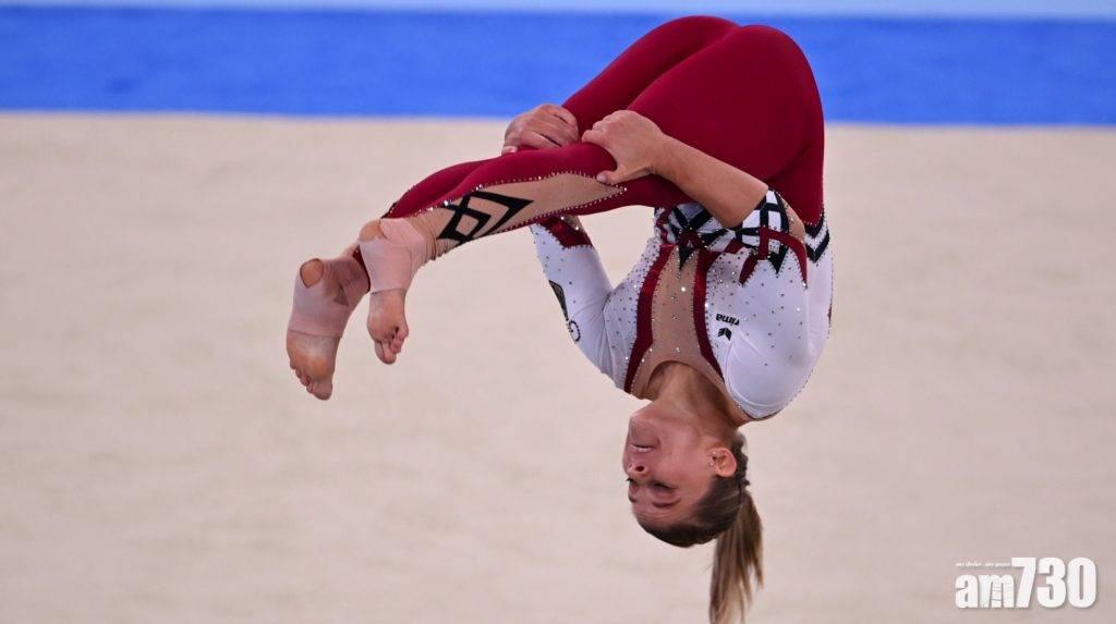 東京奧運 反對性感化女選手  德國女子體操隊穿長褲型戰衣