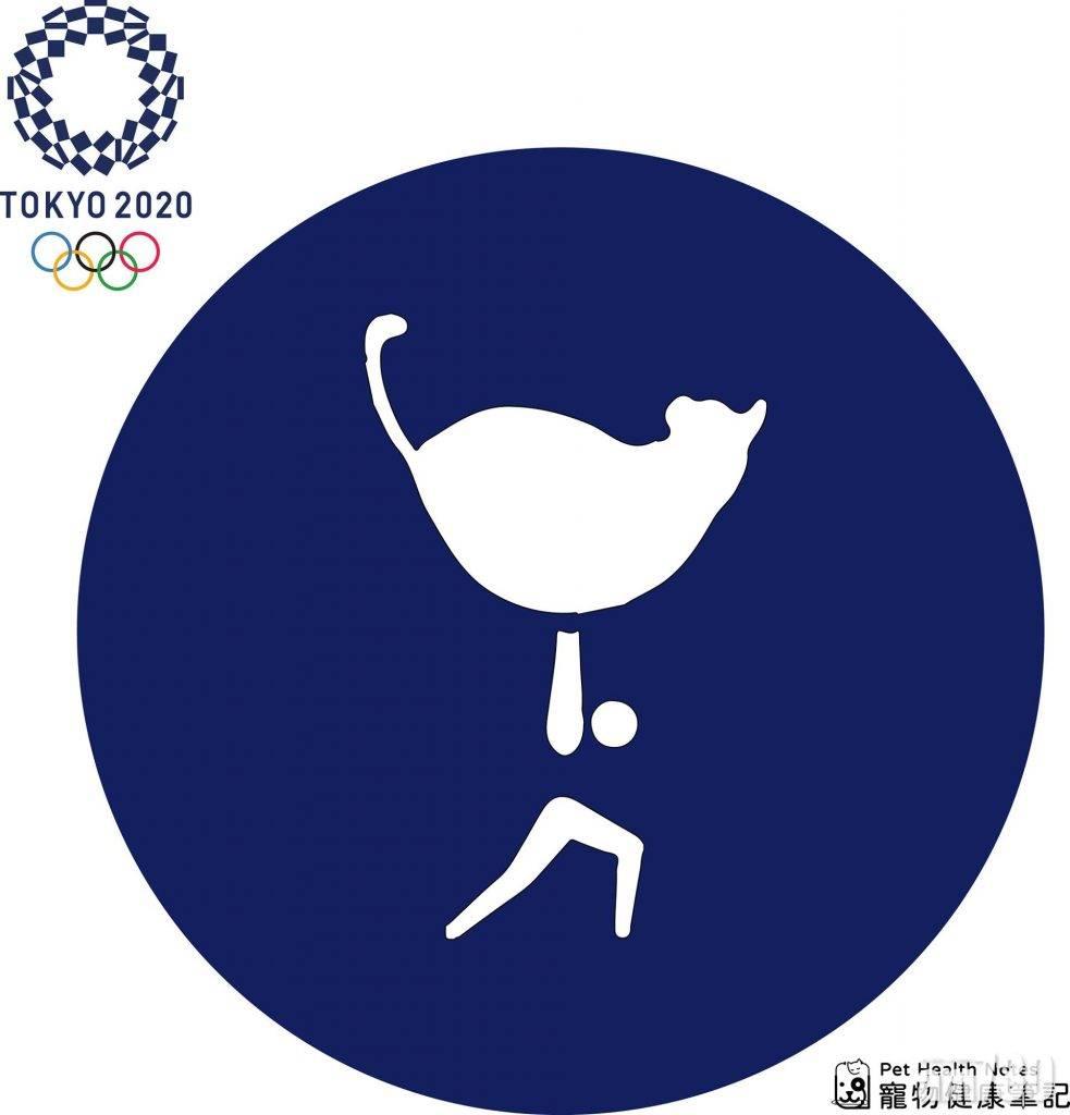 東京奧運|假如有貓貓競賽項目 貓奴至愛圖標