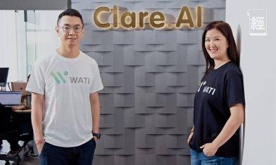 Clare.AI研發新產品WATI 助中小企數碼轉型 新一輪融資獲八位數字資金