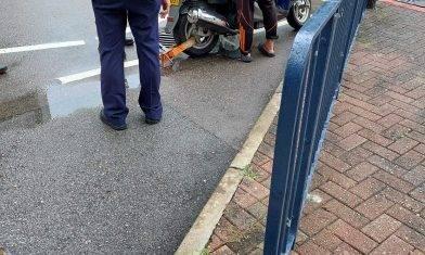 網上熱話|黃埔花園鎖外賣員電單車 網友:要求320元服務費
