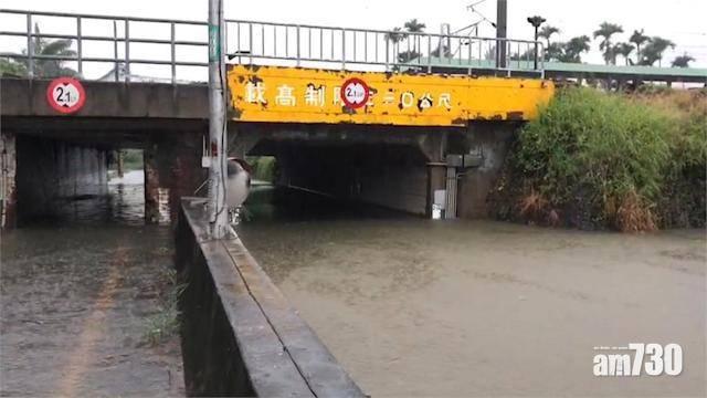 超強暴雨襲南台灣 高雄雨量達740毫米