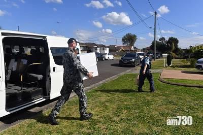 新冠疫苗 悉尼施禁足令軍人巡邏    布里斯班學校爆疫昆省封城至周日