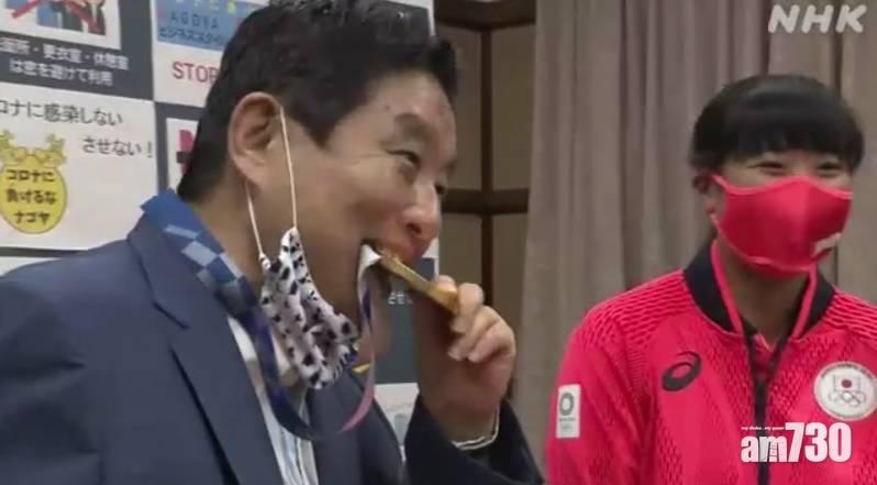 東京奧運|被咬金牌冇得換  名古屋市長瘀爆道歉但否認性騷擾女選手