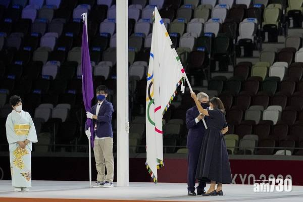 東京奧運 聖火熄滅 奧運2024年巴黎見