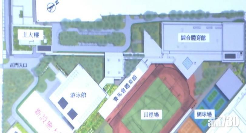 公布進一步支援體育發展 林鄭:爭取體院新設施大樓2024年6月啟用