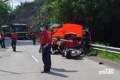 奪命車禍|新娘潭路電單車失事撼兩車 鐵騎士送院返魂乏術