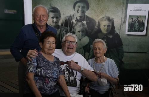 感人|士兵二戰救3小孩 憑1944年舊照社交網尋人開心團聚