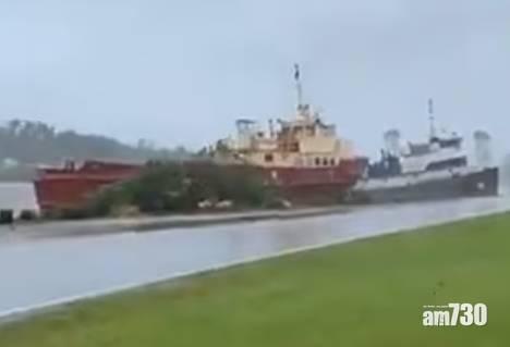颶風艾達襲美國最少1死 洪水暴漲大樹連根拔起 (有片)