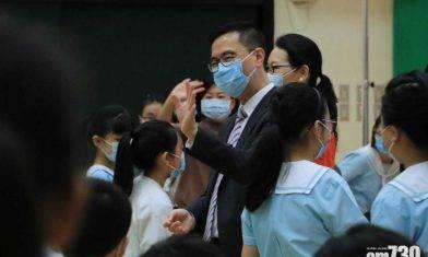 開學日|楊潤雄:下周檢視學校接種率 強調教職員須為公社科負責任