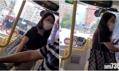 網上熱話|「油麻地公主」回應大鬧巴士事件 九巴盛讚車長處理恰當
