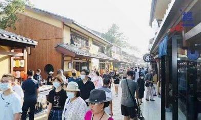 大連「小京都」耗資60億 開幕9日被逼停業 網民不滿只賣日本貨 斥日本文化侵略